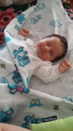Foto del neonato per Ritratto ad Olio su Commissione